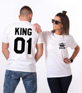 camisetas queen y king