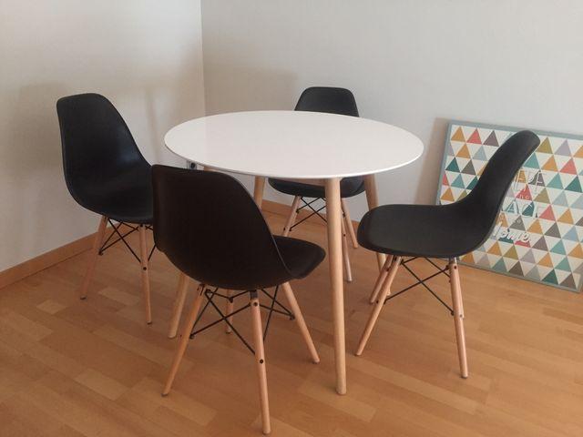 Mesas Comedor Estilo Nordico | Mesa Comedor Estilo Nordico De Segunda Mano Por 45 En Sabadell En