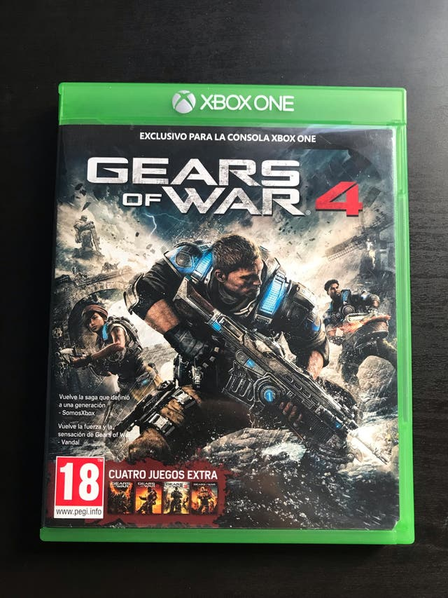Gears Of War 4 Para Xbox One 2 Juego Gratis De Segunda Mano Por 20