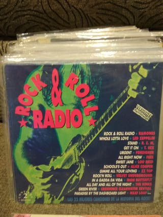 VINILO Rock and roll radio