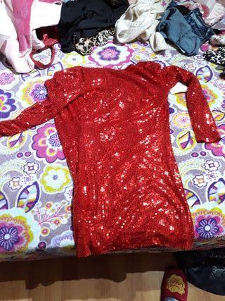Vestido de fiesta usado talle xl