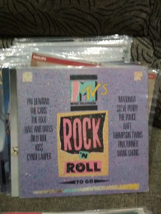 VINILO MTV Rock and roll