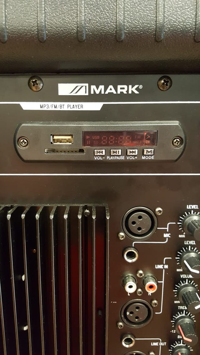 "ALTAVOZ ACTIVO 15\"" Mark MBS152/2 A USB SEMI-NUEVO"