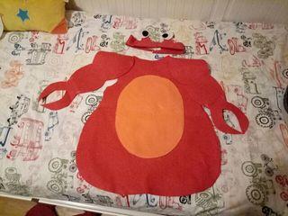 disfraz de cangrejo