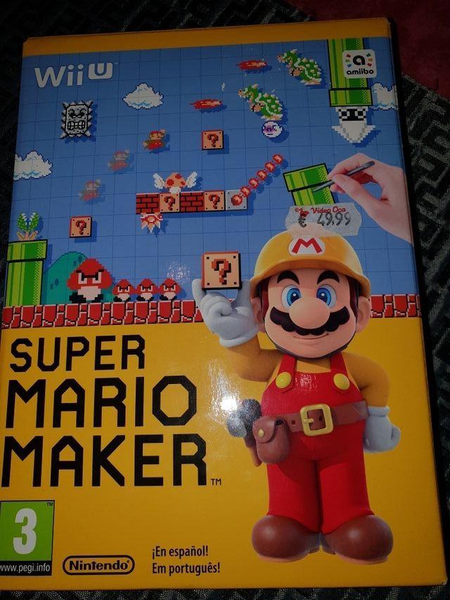 Juego Para Wii U Super Mario Maker De Segunda Mano Por 25 En Vic