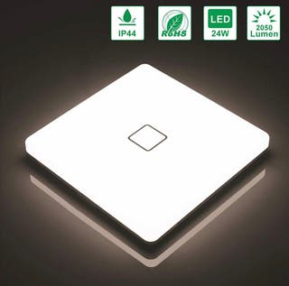 Lámpara de techo LED 24W IP44 2050lm Plafón LED