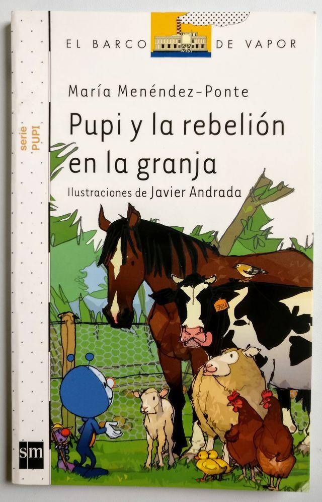 Libro: Pupi y la rebelion en la granja