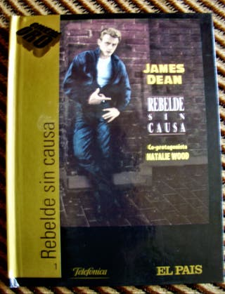 DVD CON LIBRO JAMES DEAN-REBELDE SIN CAUSA