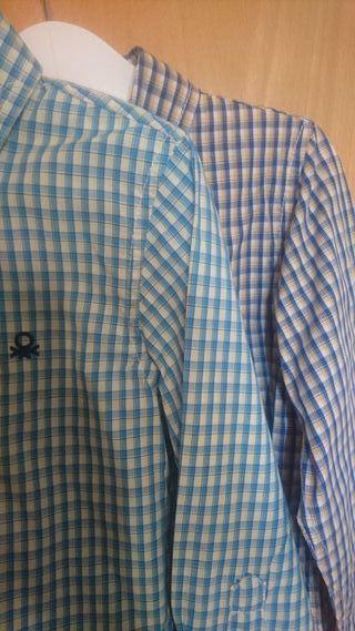 lote camisas de benetton