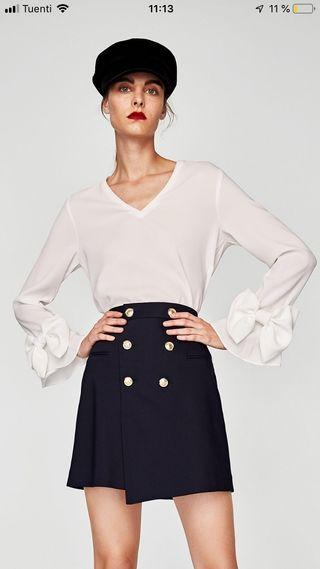 Camisa blusa de Zara