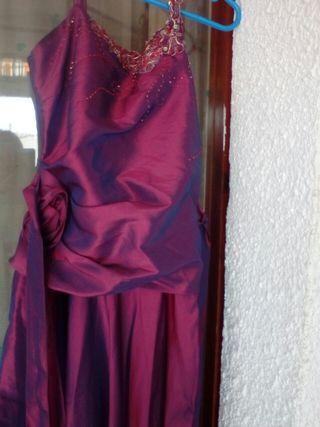 vestido largo muy bonito