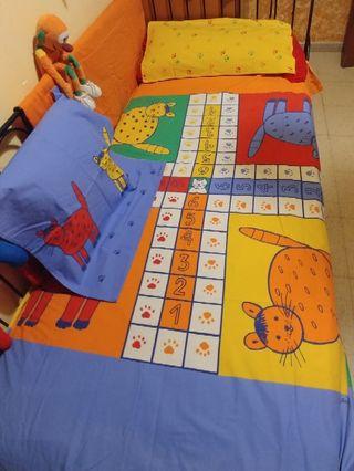 Funda nordica 6 piezas,cama.90