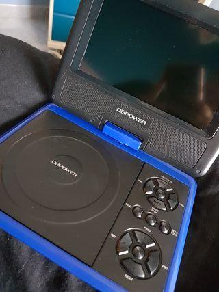 DBPOWER Reproductor de DVD portátil