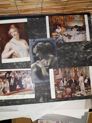 Postales fotográficas antiguas