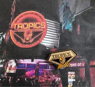 Pin Discoteca TROPICS Lloret de Mar