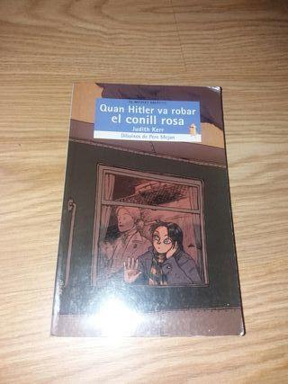 libro quan Hitler va robar el conill rosa