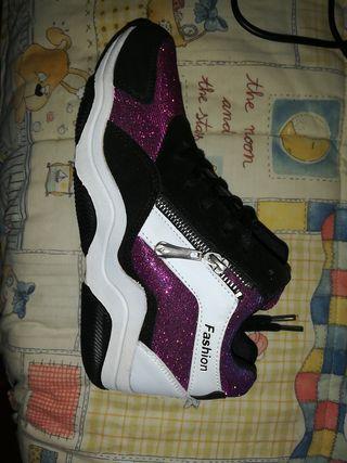 zapatillas fashion número 38