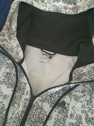 Segunda Negra De 30 Blanca Por Y Talla Adidas Sudadera Mano S Pg7q60