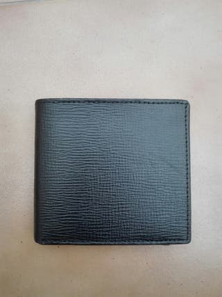 Cartera - billetera hombre piel