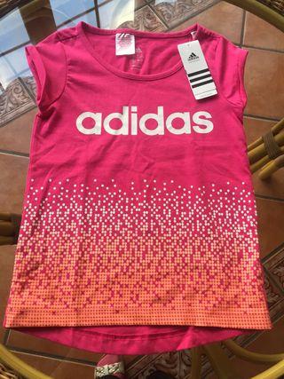 Camiseta ADIDAS niña, 11-12 años. SIN ESTRENAR!!