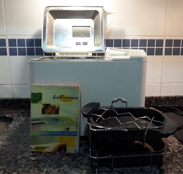Robot de cocina. La cocinera