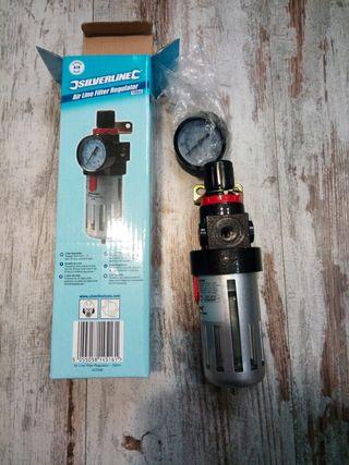 regulador de presión compresor