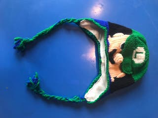 Gorro Mario Bros . Luigi