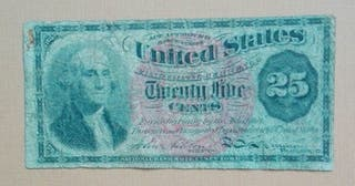 billete antiguo de estados unidos