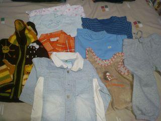 lote ropa bebé-niño 12-18 meses