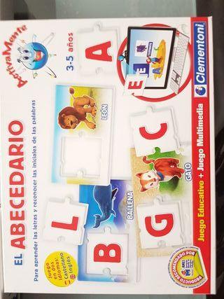 juego el abecedario