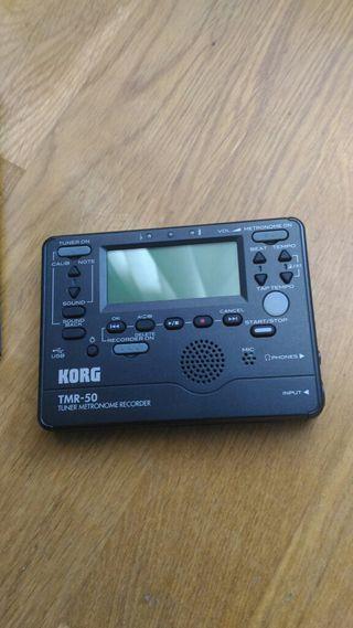 Korg TMR-50 afinador metronomo grabador