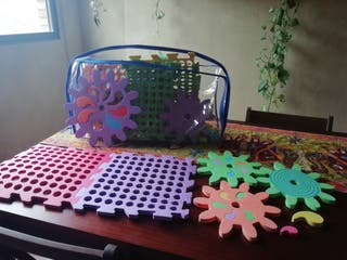 Puzzle gomaespuma