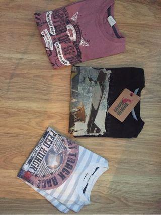 Pack tres camisetas talla 5