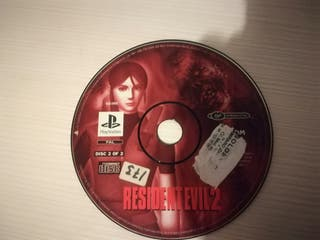 resident evil 2 playstation CD 2