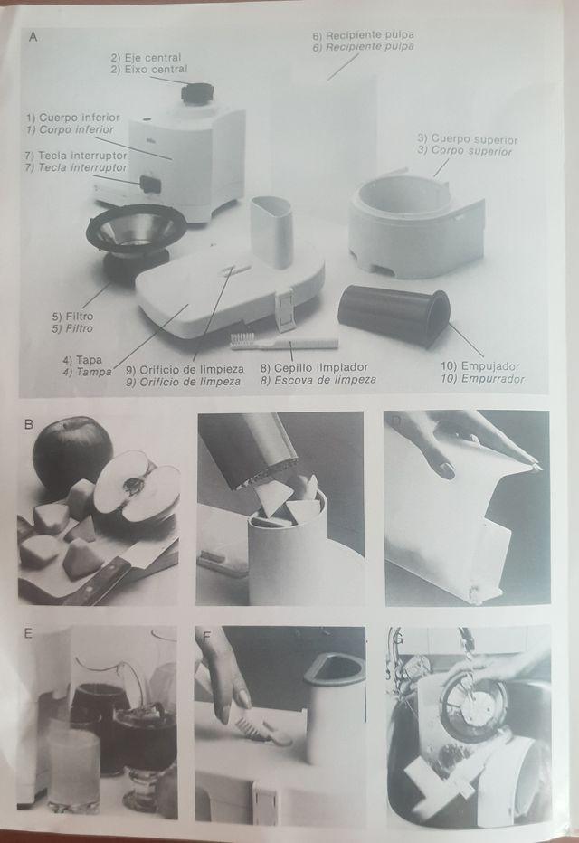 Licuadora Braun modelo Multipres