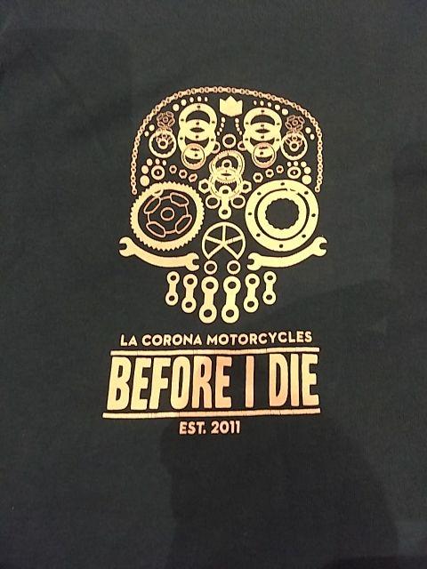 camiseta motera café racer