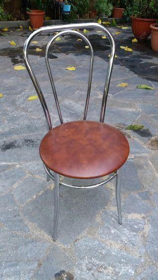 silla cocina hierro