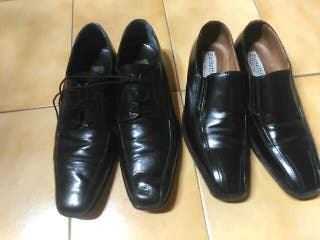 zapatos caballero en piel número 44.