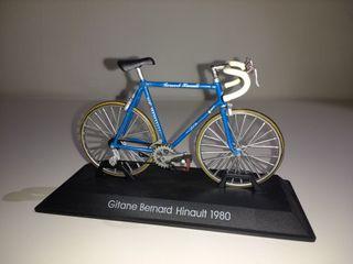 Maqueta bicicleta Bernard Hinault