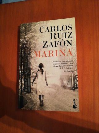 marina Carlos Ruiz Zafón