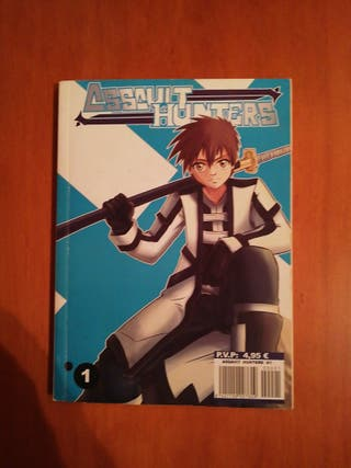 assaut Hunters libro manga