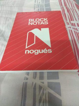 Block de notas A5 blanco