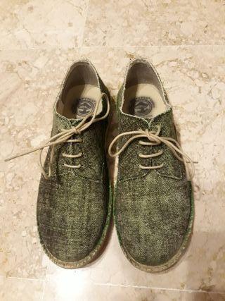 zapatos verdes n41