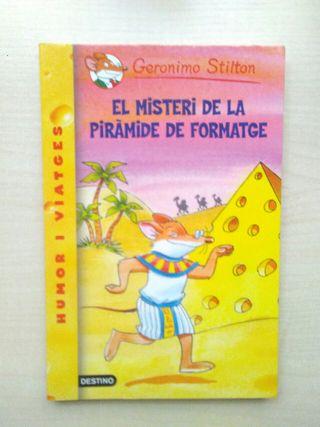 Libro El misteri de la pirámide de formatge.