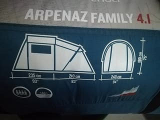 Carpa Alpenaz Family 4 Decathlon