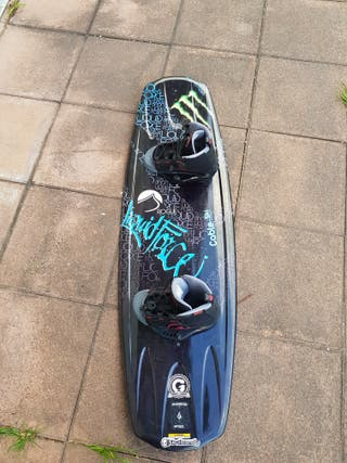 wakeboard + botas