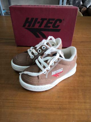 zapatillas niño HI-TEC talla 25
