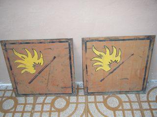 Años 40, Icona, carteles incendio.