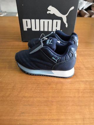 zapatillas niño Puma talla 23