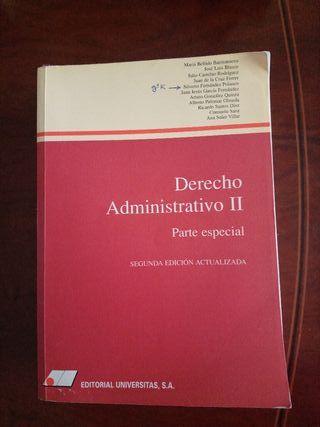 Derecho Administrativo II parte especial